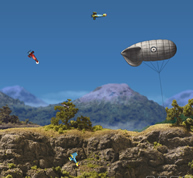 avioane vanatoare bombard…