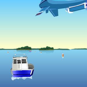 cursa de barci
